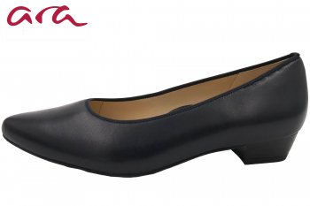 Ara Damen Pumps Dunkelblau