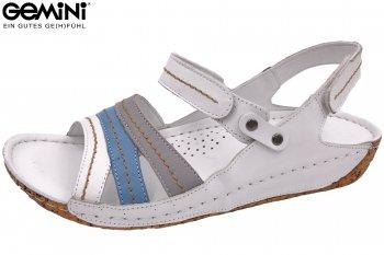Gemini Damen Sandale Weiß