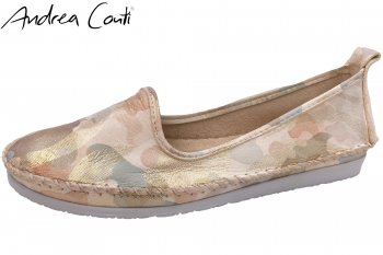 Andrea Conti Damen Slipper Pastell