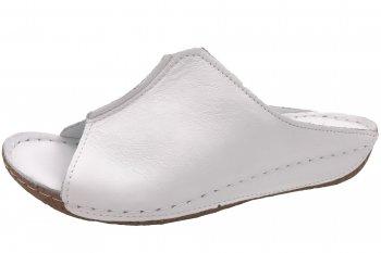Andrea Conti Damen Pantolette Weiß