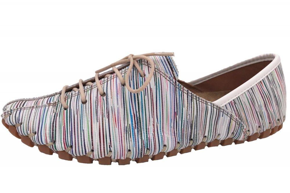 Gemini Schnür Schuhe Weiß/Bunt