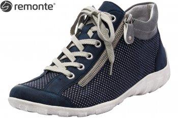 Remonte Damen Sneaker High Blau