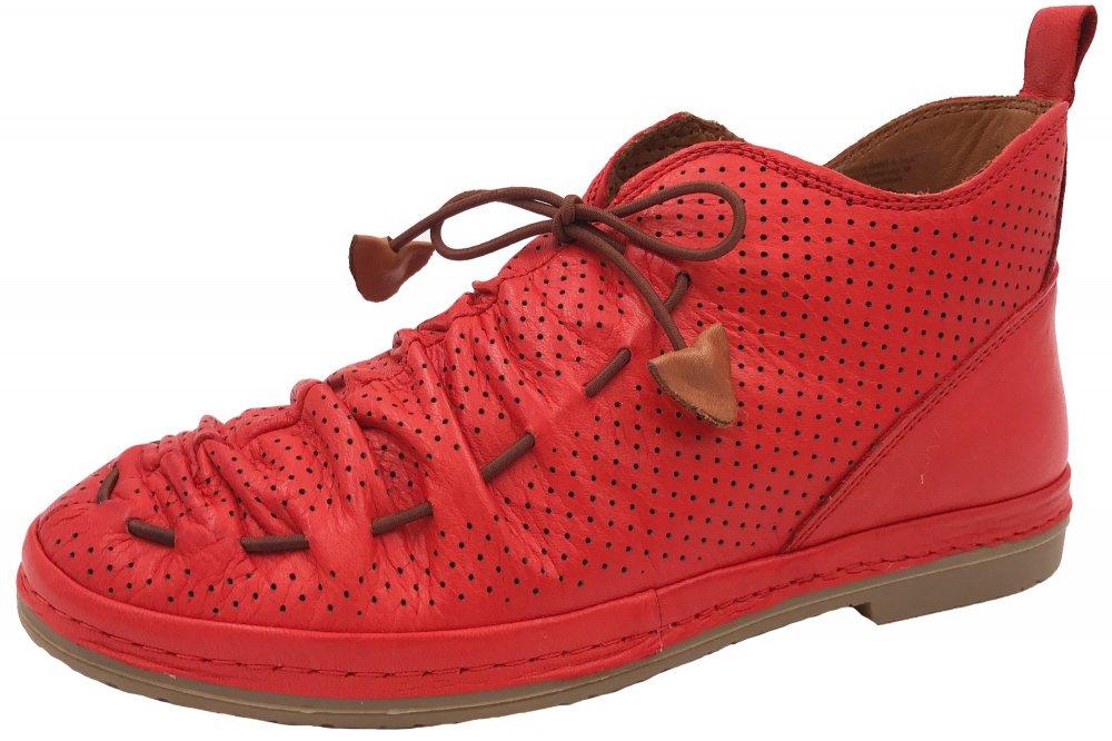 Manitu Damen Schuhe Rot