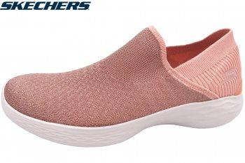 Skechers Damen YOU - Transcend Slipper Rosa