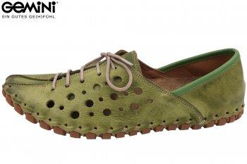 Gemini Damen Sommer Schuhe Grün