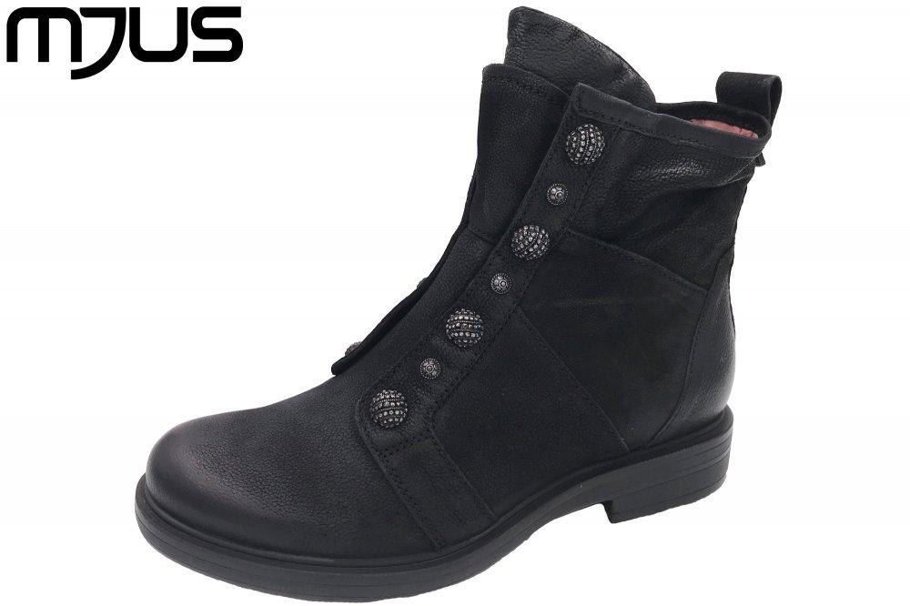 cd24c73c8165de MJUS Damen Boots Schwarz