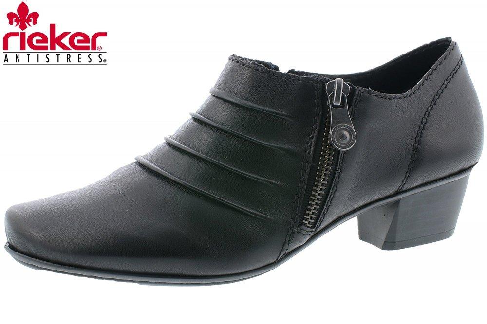 RIEKER Schuhe Pumps 53871-01 schwarz NEU