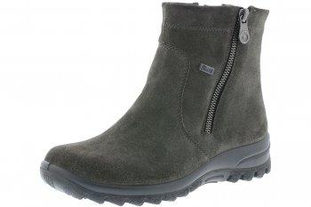 Rieker Tex Damen Boots Grau