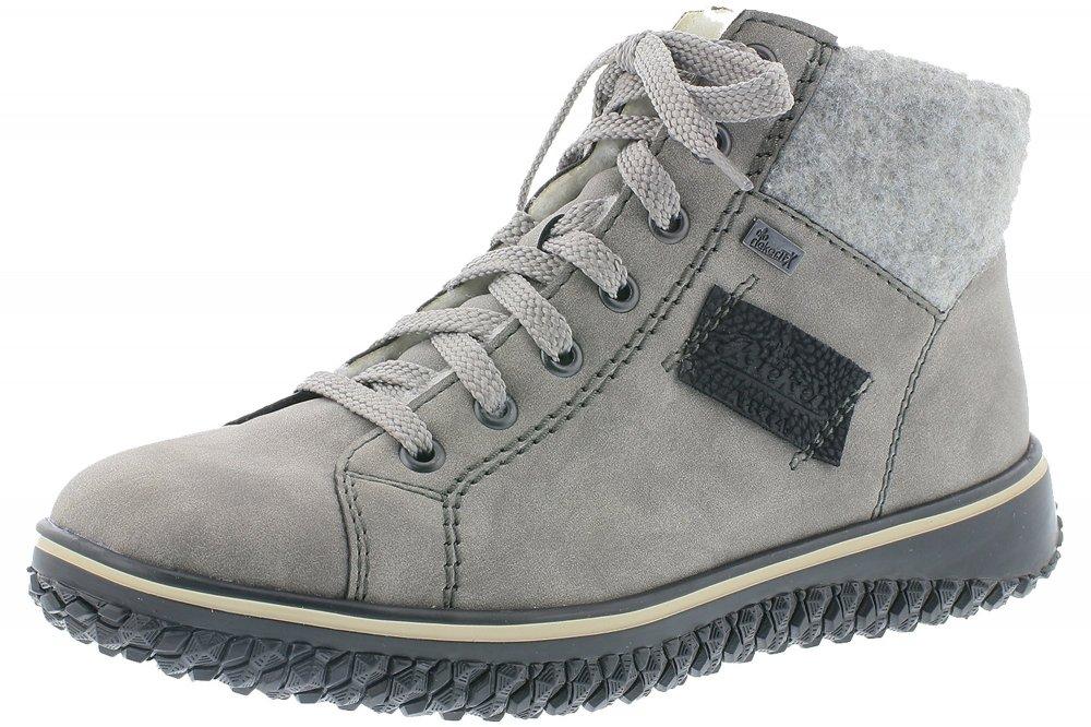 Rieker Tex Damen Boots Hellgrau