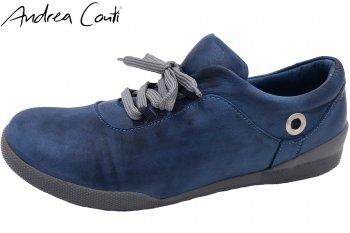 Andrea Conti Damen Sneaker Blau