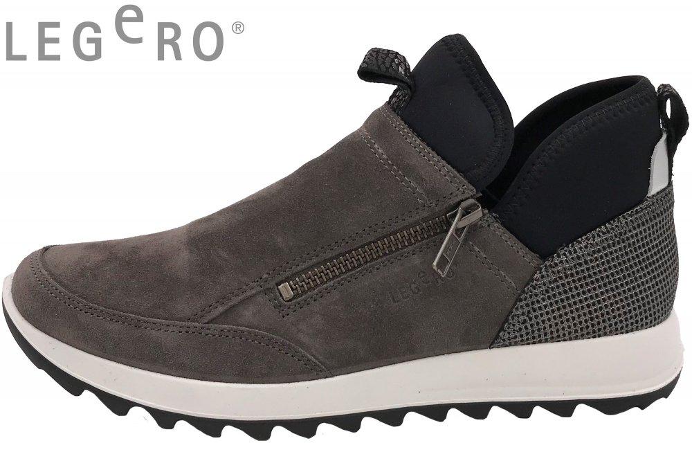 offiziell geeignet für Männer/Frauen elegant im Stil Legero Amato Damen Slipper Stone