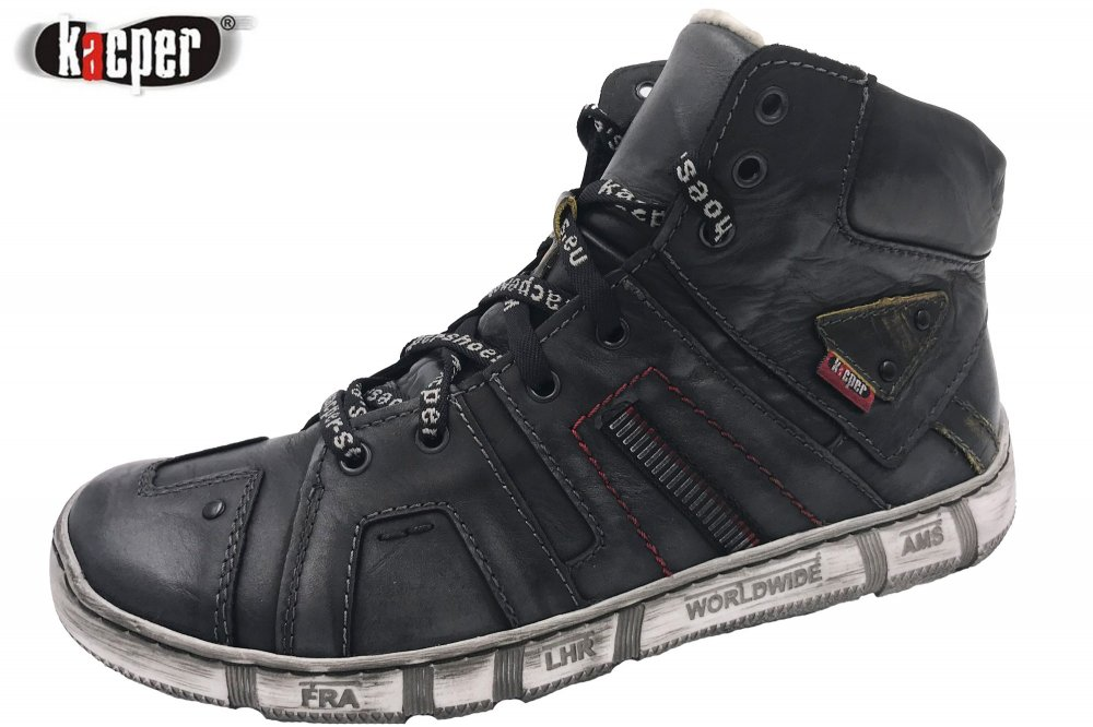 Kacper Herren Winter Boots Grau