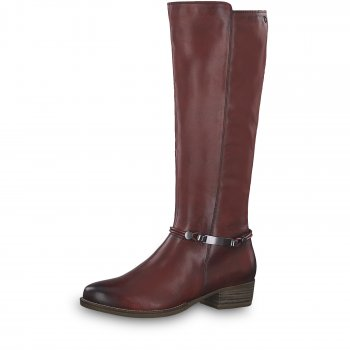 Tamaris Damen Stiefel Marly Rot