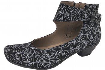 Maria Shoes Pumps Schwarz Weiß