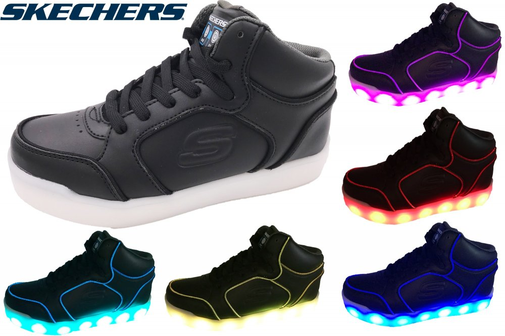 Skechers Kinder LED Schuhe Energy Lights
