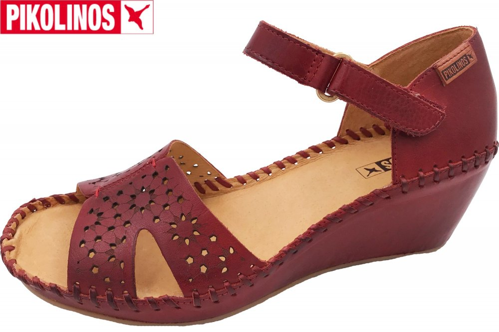 save off 3d288 20510 Pikolinos Margarita Damen Sandalette Rot