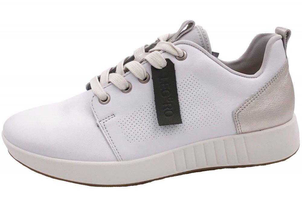 neueste art elegant und anmutig Rabatt Legero Essence Damen Sneaker Weiß