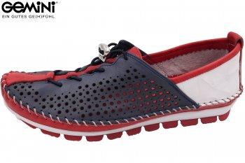 Gemini Damen Schuhe Blau/Rot