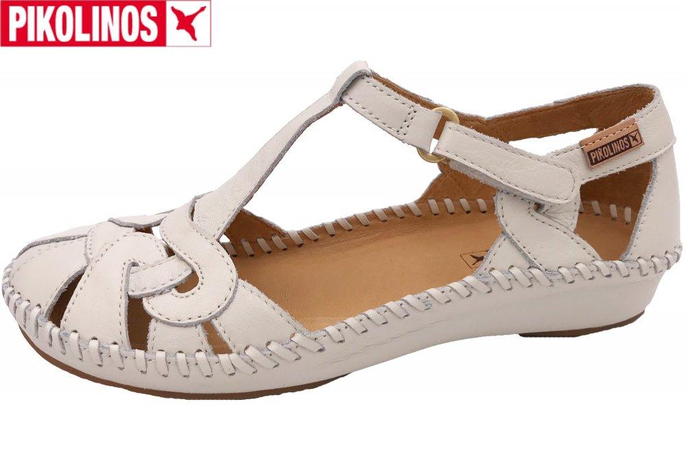 Pikolinos Vallarta Damen Sandale weiß