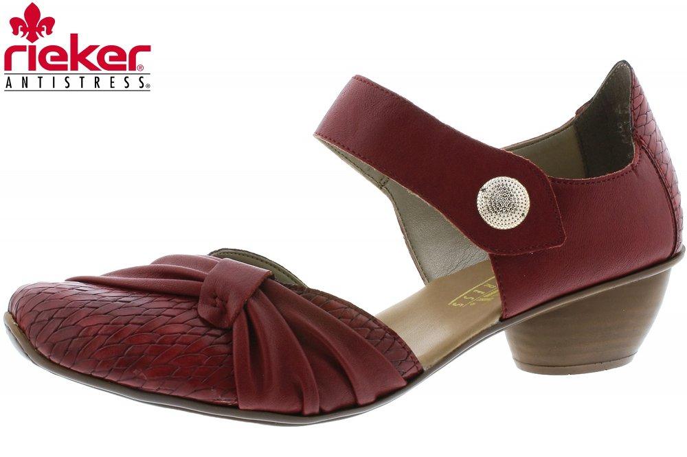 Rieker 43722 35 Schuhe Damen Spangenpumps | real