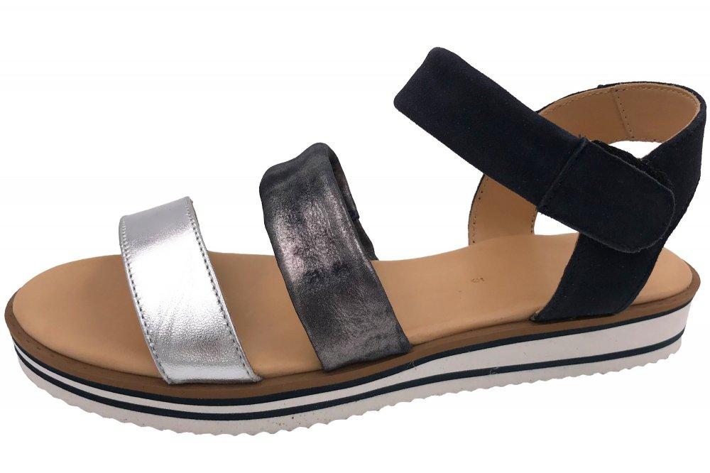 Ara Damen Sandale Durban Blau