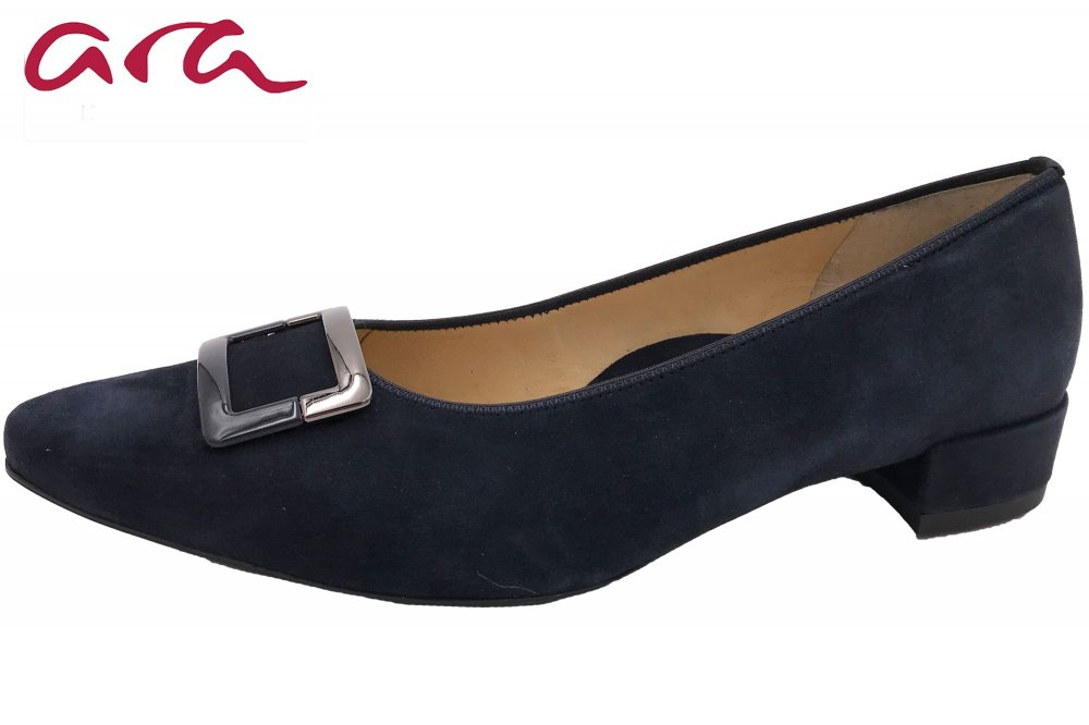 Ara Damen Pumps Paris Blau