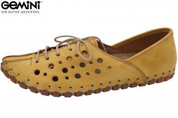 Gemini Damen Sommer Schuhe Gelb