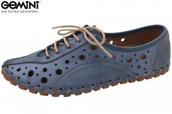 Gemini Sommer Schuhe Jeansblau