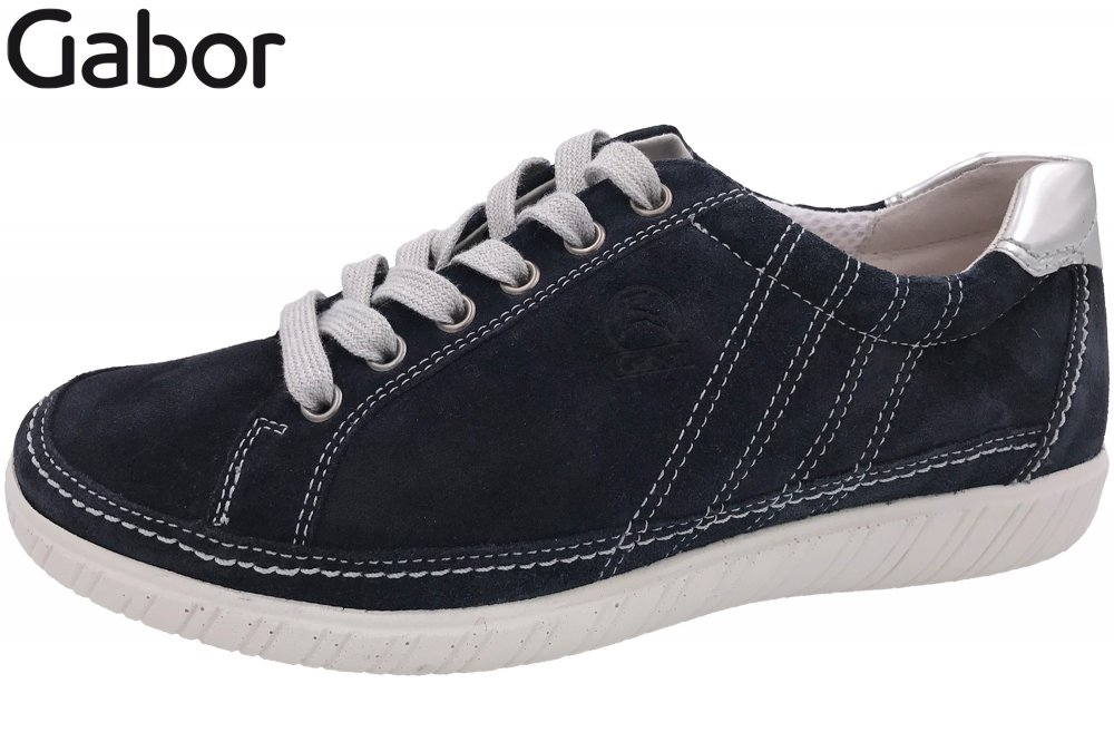 Gabor Damen Sneaker Blau