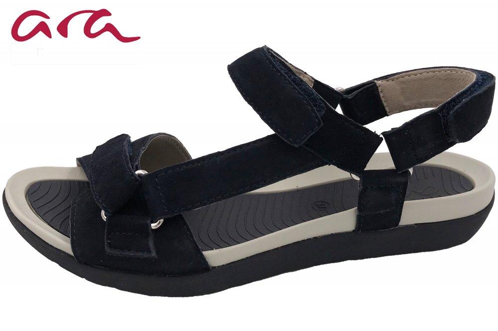 Ara Damen Sandale Nepal Blau