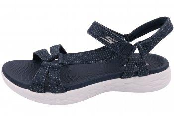 Skechers Damen Sandale Blau