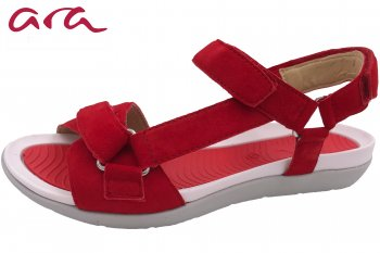 Ara Damen Sandale Nepal Rot