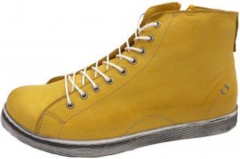 Andrea Conti High Top Sneaker Gelb