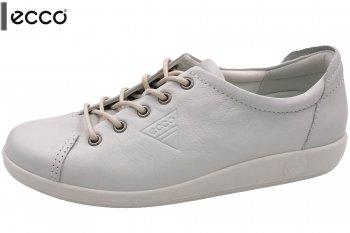 ECCO Soft 2.0 Damen Sneaker Weiß