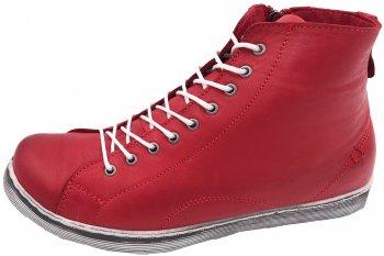 Andrea Conti High Top Sneaker Chili