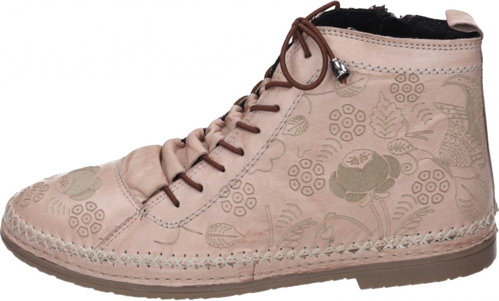 Details zu Manitu Damen Schuhe Rosa Schuhe Leder 991382 42