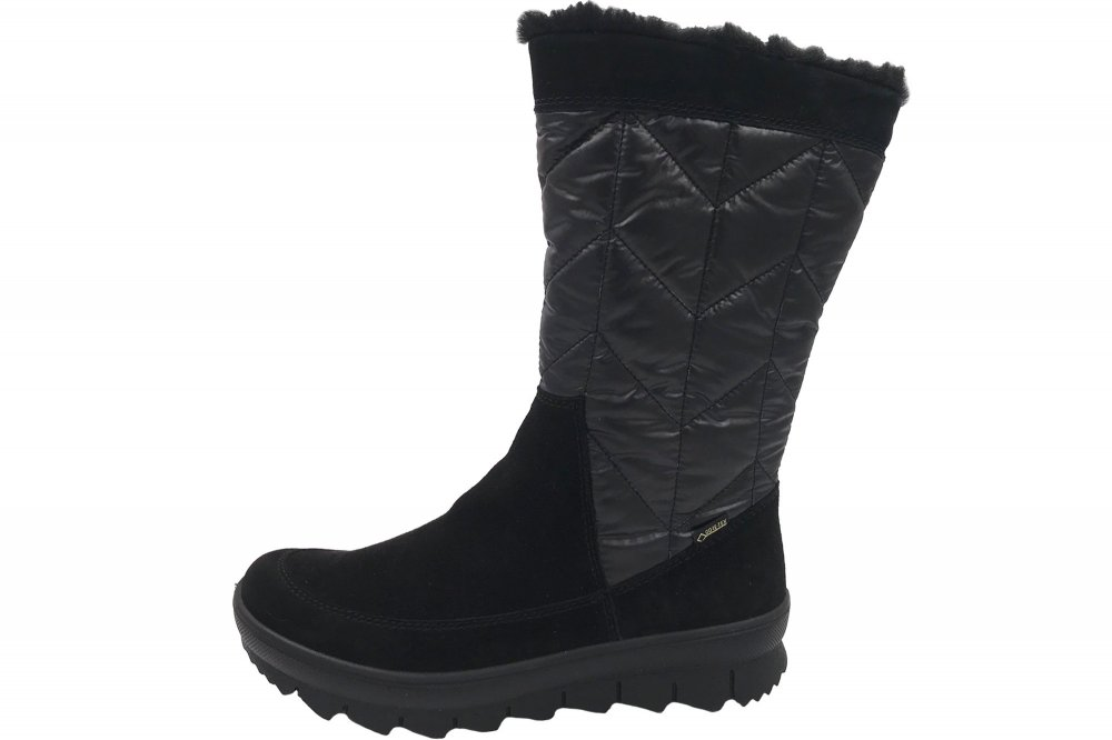 Legero Damen Thermostiefel Schwarz