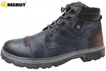 Krisbut Herren Boots Blau Kombi