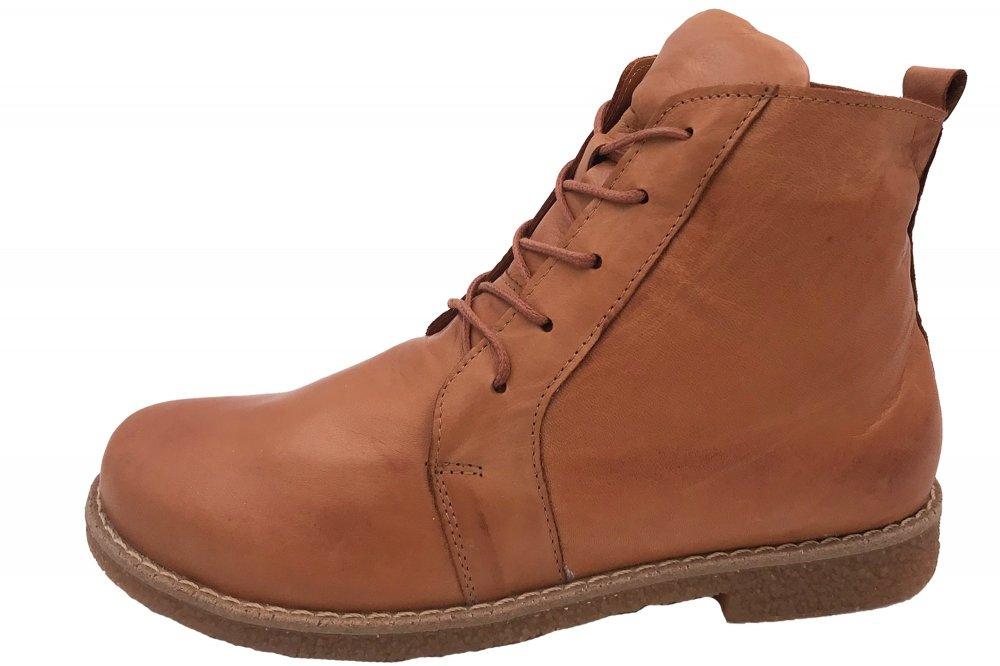 Andrea Conti Boots Cognac Braun