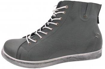 Andrea Conti High Top Sneaker Grau