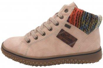 Rieker Tex Damen Boots Rosa