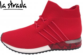 La Strada Damen Sneaker Rot