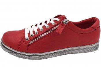 Andrea Conti Damen Schuhe Rot
