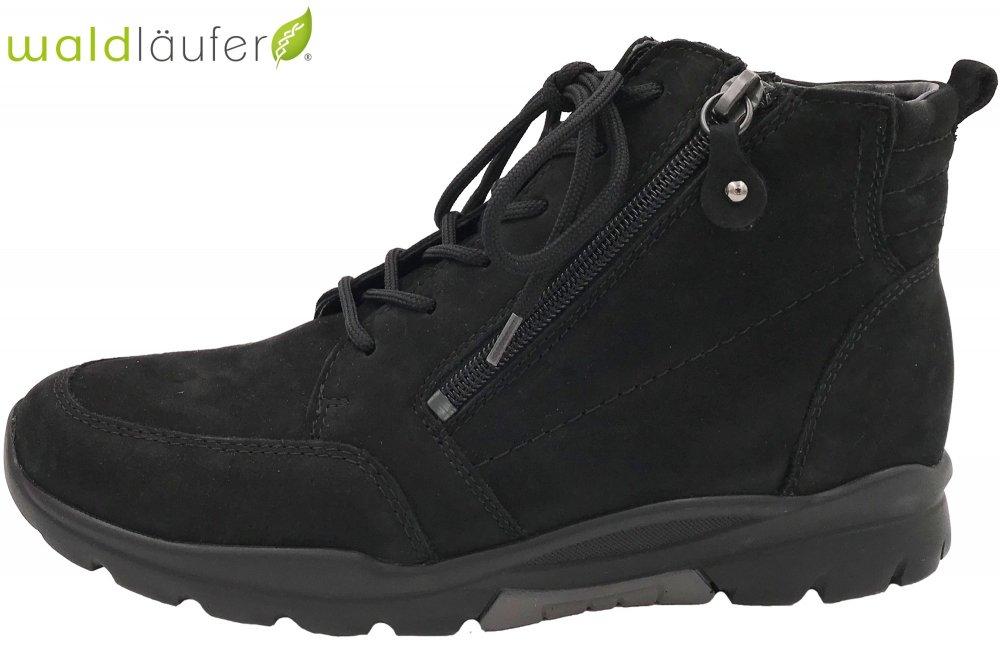 Waldläufer Damen Schuhe Denver Schwarz