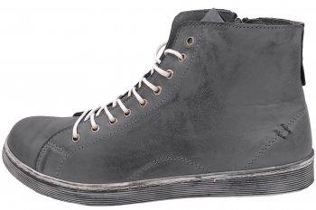 Andrea Conti High Top Sneaker Anthrazit