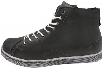 Andrea Conti High Top Sneaker Schiefer