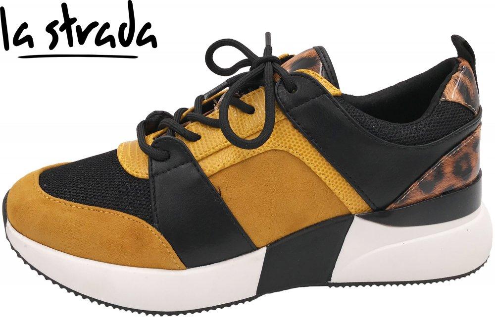 La Strada Damen Sneaker Ocker