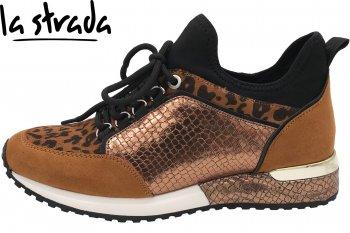 La Strada Damen Sneaker Leopard