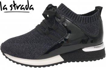 La Strada Damen Sneaker Anthrazit