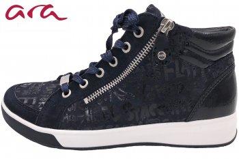 ara Damen Sneaker Blau
